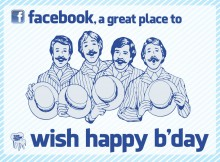 A Lot Of Persons Wishing Happy Birthday On Facebook