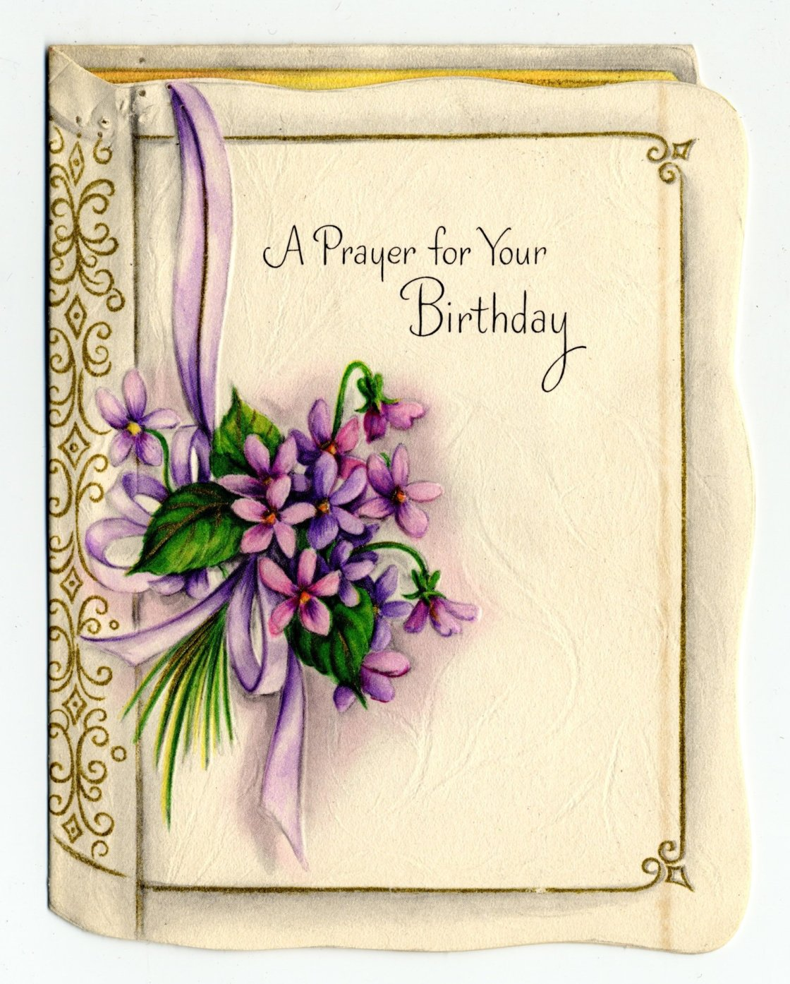 A Prayer For Your Birthday