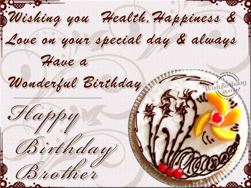 Amazing Birthday Brother Greeting Card