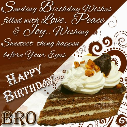 Birthday wishes for brother ecards images page 84 attractive happy birthday greeting crad m4hsunfo
