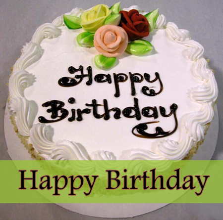 Birthday Cake Pictures Beautiful : Beautiful Happy Birthday Cake Nicewishes.com