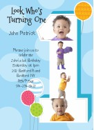 Birthday Greetings For 1 Year Old Boy Wishes Little Kid Greeting Card