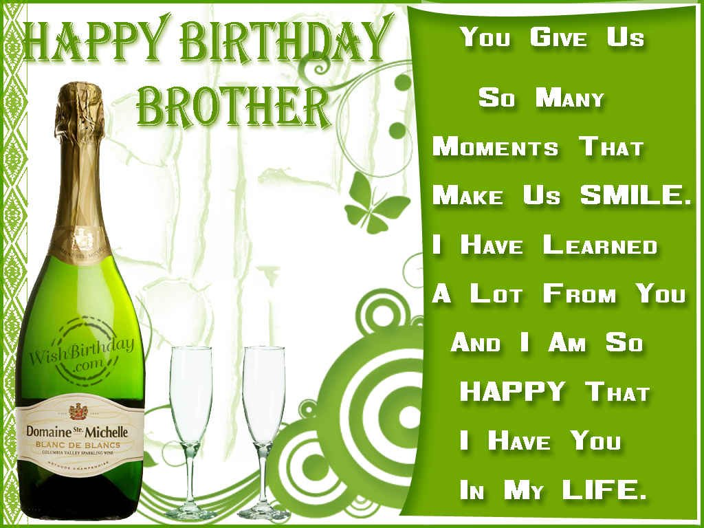 Birthday wishes for brother ecards images page 67 happy birthday brother remembering the moments kristyandbryce Images