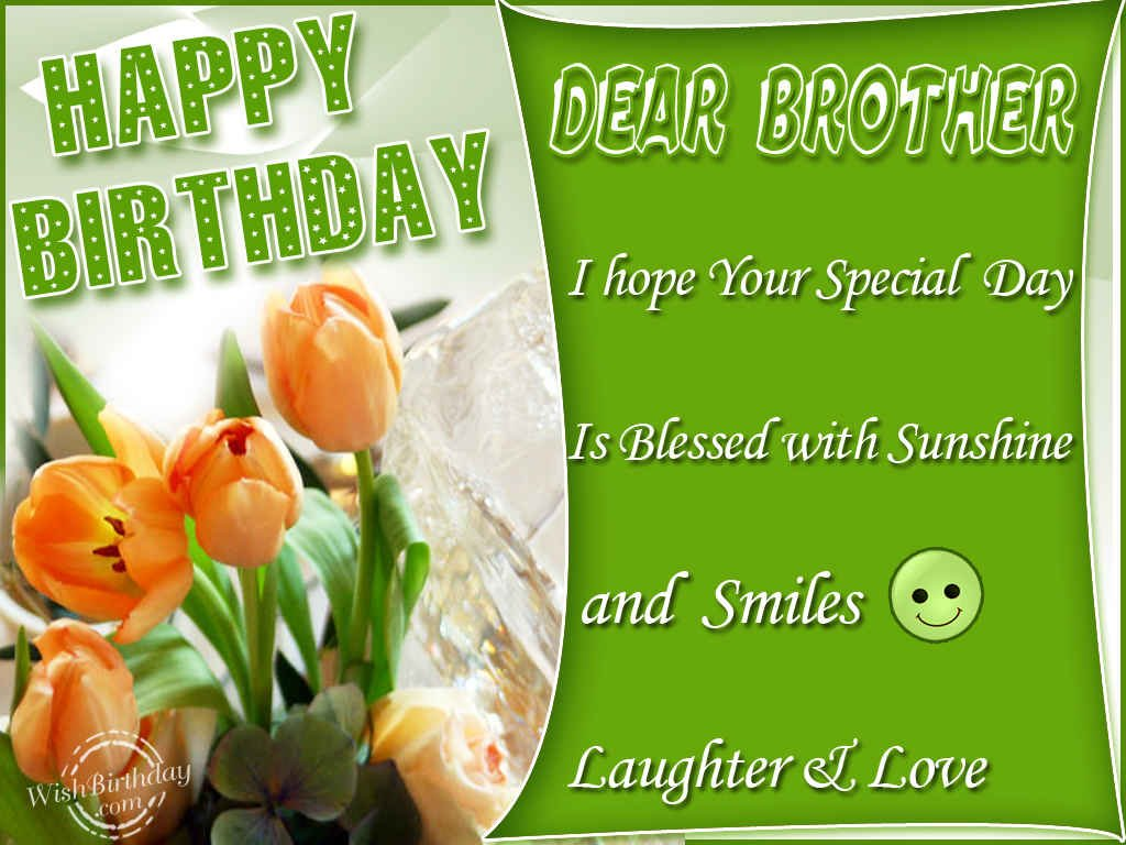 Birthday wishes for brother ecards images page 67 happy birthday brother smiles and laughter love you kristyandbryce Images