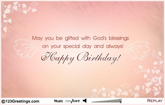Birthday Wishes For Mentors ~ Happy birthday god blessings nicewishes