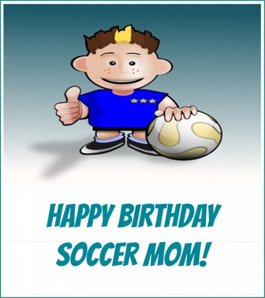 Happy Birthday Soccer Mom