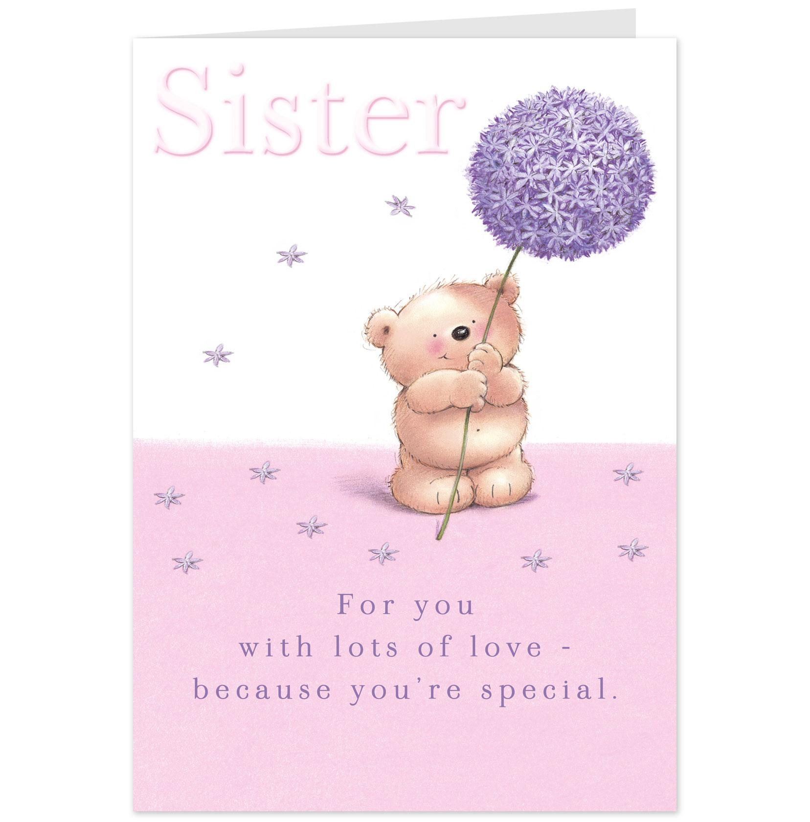 Heart Touching Card For Loving Sister NiceWishes