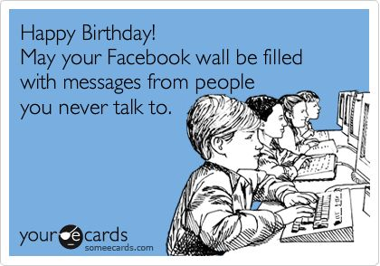 Many Childrens Open Facebook Messages For Birthday Peoplws