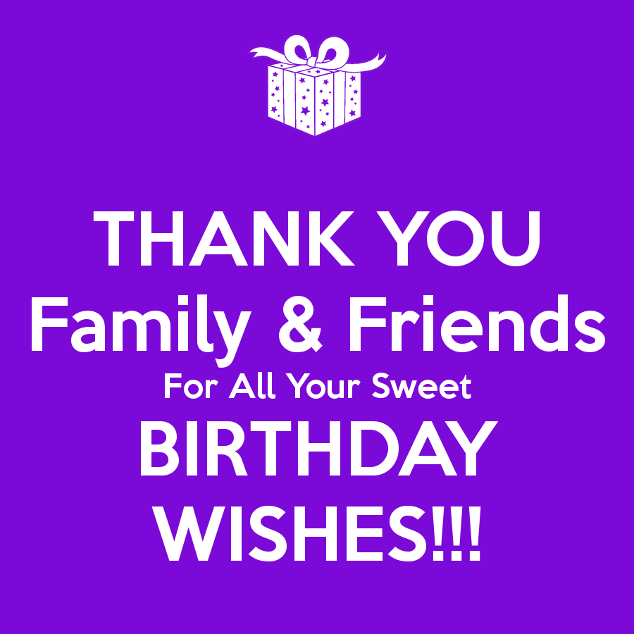 Facebook birthday wishes ecards images page 13 thank you family and friend for birthday wishes kristyandbryce Choice Image