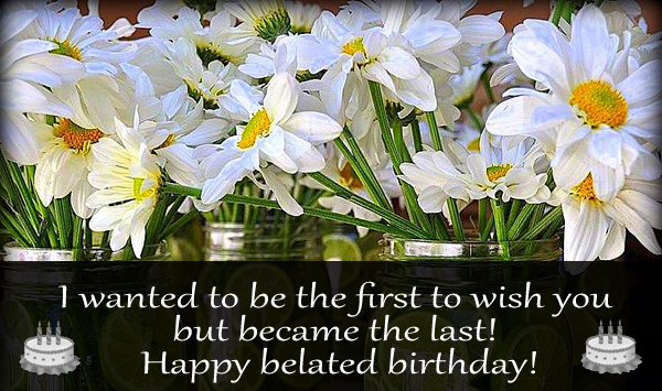 Belated Birthday Wishes For Brother In Law ~ Wish you a happy belated birthday nicewishes