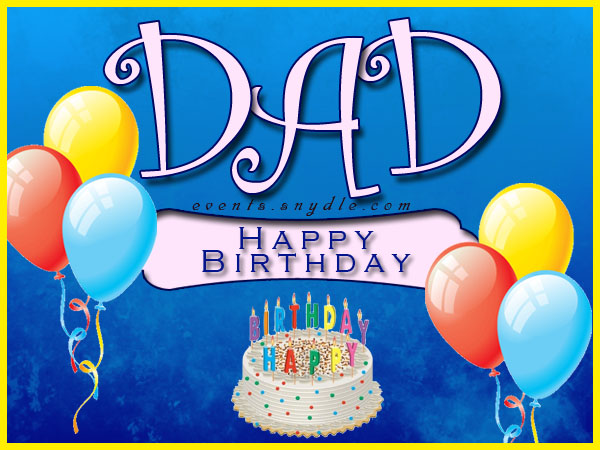 601 images) Birthday Wishes For Father – Dad Birthday Greetings ...