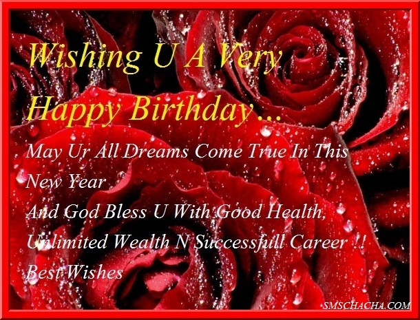 Wishing You A Very Happy Birthday Greeting Card