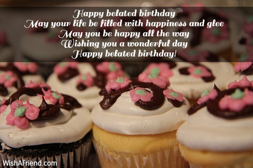 Belated Birthday Wishes For Brother In Law ~ Wishing you a wonderful day happy belated birthday nicewishes