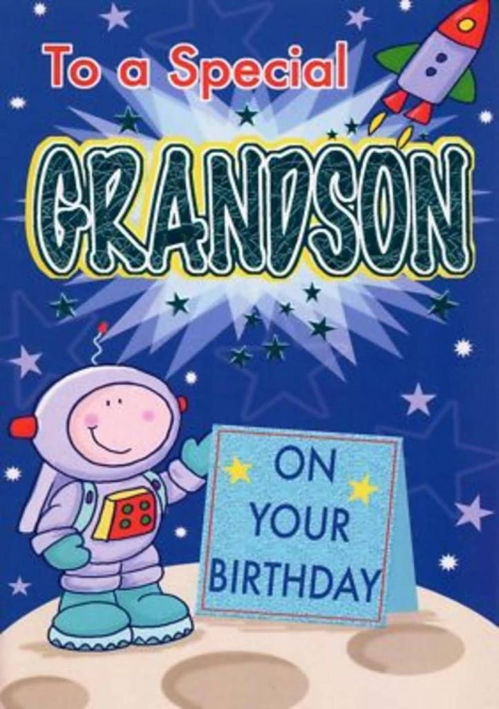 Amazing Birthday Wishes For Grandson E-Card