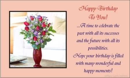 Amazing E-Card Birthday Wishes For Lovely Friends