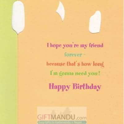 Amazing Greetings Birthday Wishes For Best Friend