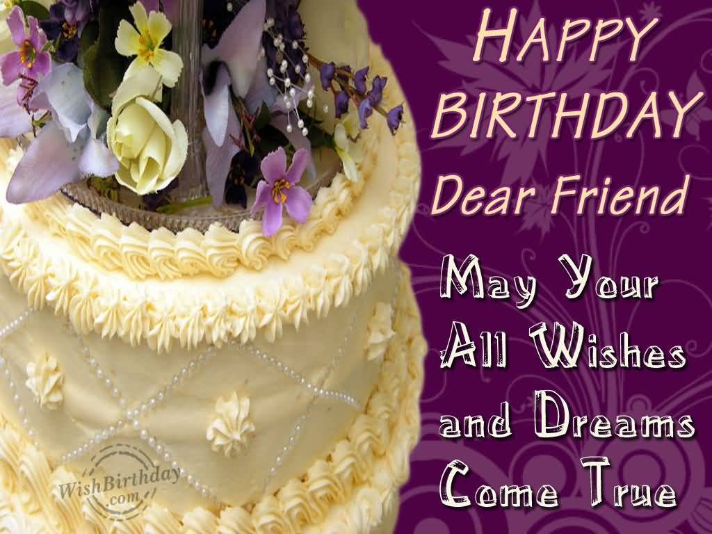Birthday Wishes For Friends | Page 2 | Nicewishes.com