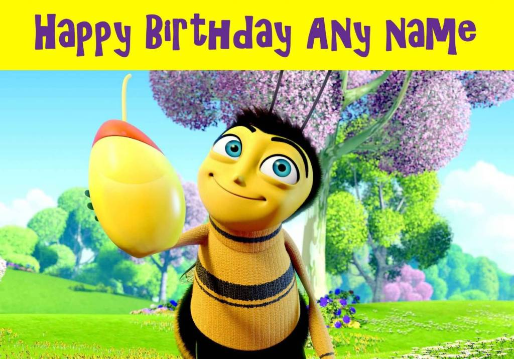 Awesome Cartoon Birthday Wishes For Kids