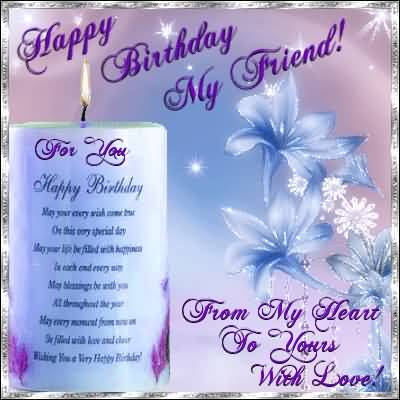 Awesome Greetings Birthday Wishes For Best Friend Ever NiceWishes – Best Birthday Greetings Ever