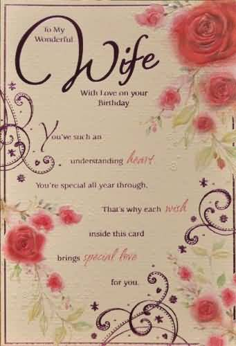 Best card for my wife happy birthday to you nicewishes best card for my wife happy birthday to you m4hsunfo