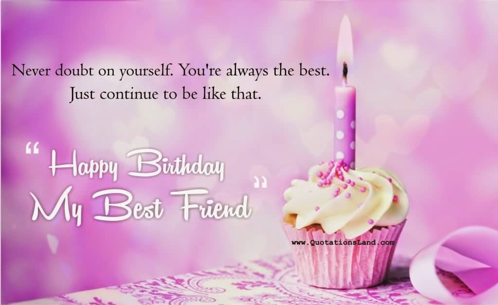 Birthday Wishes For Best Friend Images With Quotes ~ Birthday wishes for quotes best friend nicewishes