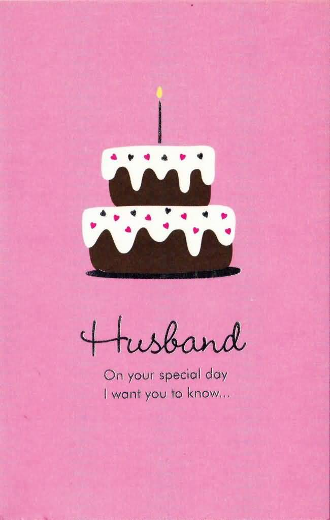 E-Card Happy Birthday Sweet Husband