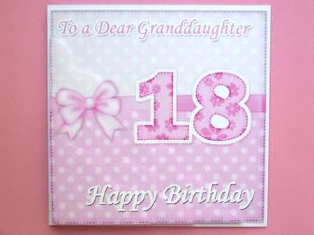 Fabulous 18th Birthday Granddaughter E Card