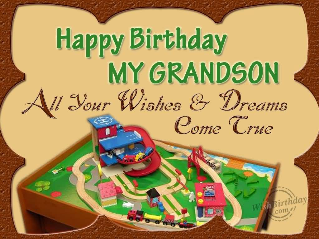 Fabulous E-Card Birthday Wishes For Grandson