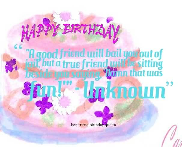 Birthday Cards Best Friends Quotes ~ Funny birthday wishes for best friend e card nicewishes