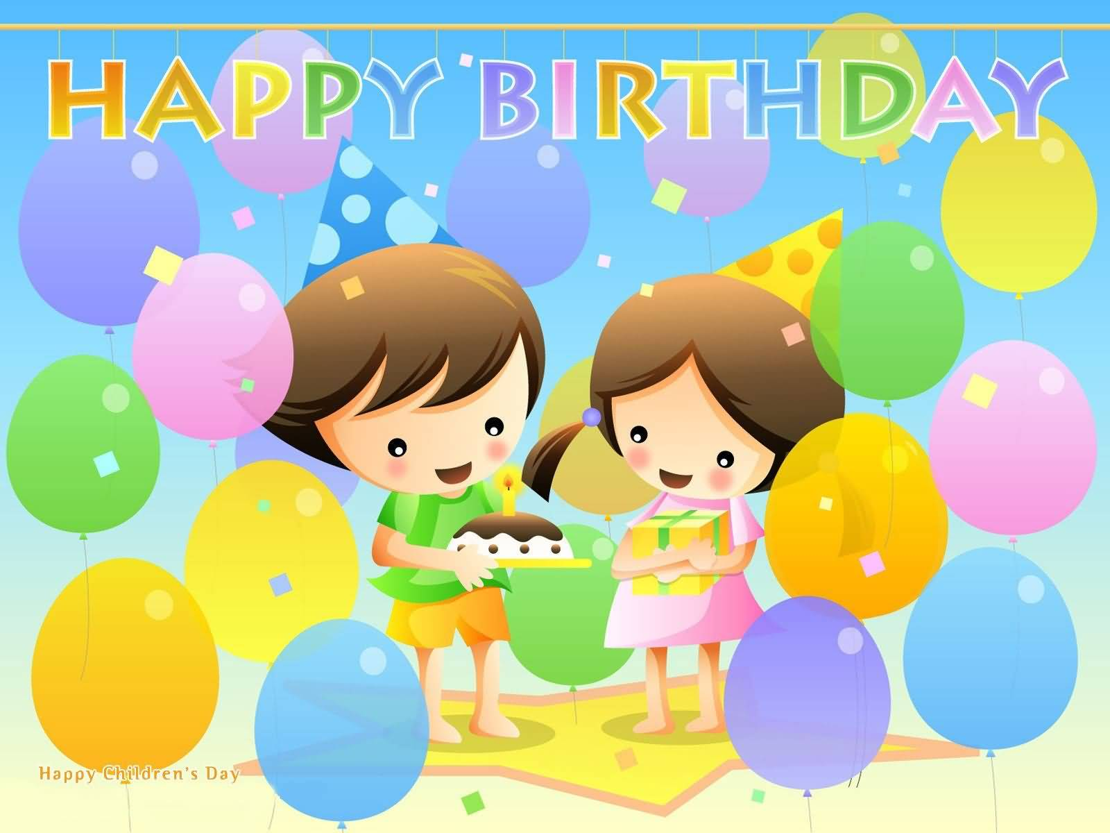 Happy Birthday Wishes For Kids  Greetings