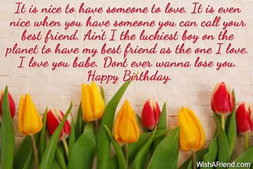 Birthday Cards Wishes For Best Friend ~ Lovely flower e card birthday wishes for best friend nicewishes