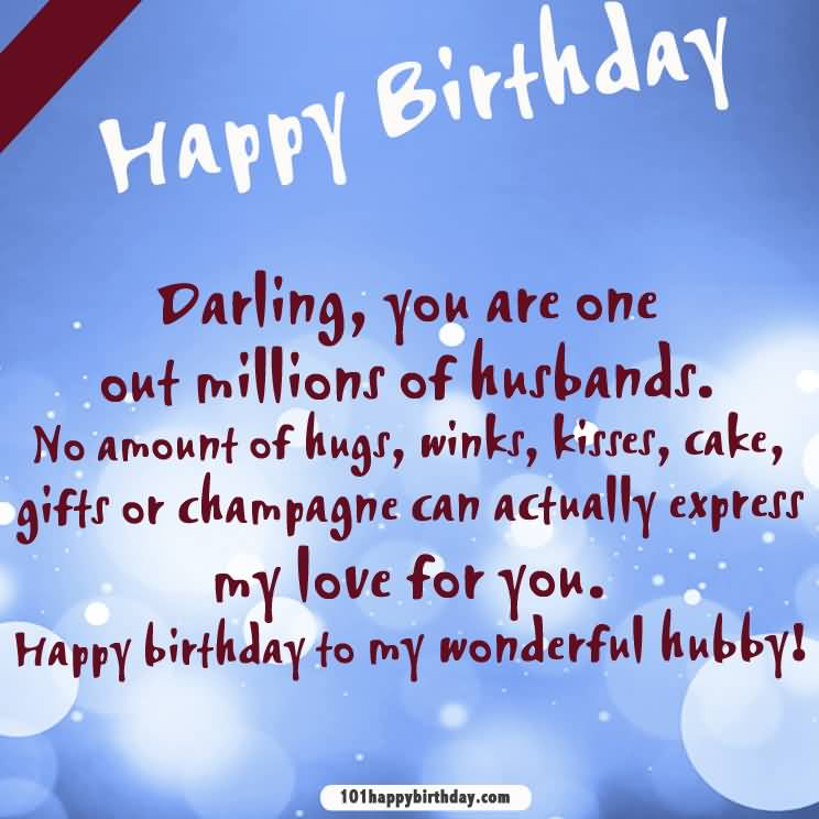 Cute Love Quotes For Husband On His Birthday: (227 Images) Birthday Wishes For Husband