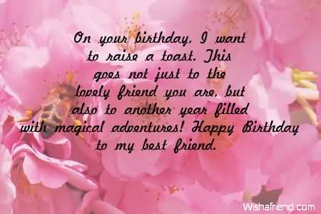 Magical birthday wishes for my best friend nicewishes magical birthday wishes for my best friend m4hsunfo