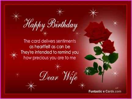 Nice ECard Birthday Wishes To My Wife NiceWishes – E Birthday Cards for Wife