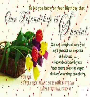 Birthday wishes for friends essay