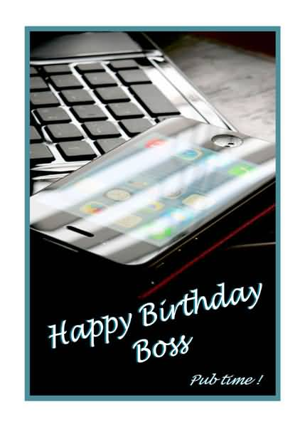 Awesome Birtday Wishes For Dear Boss E-Card