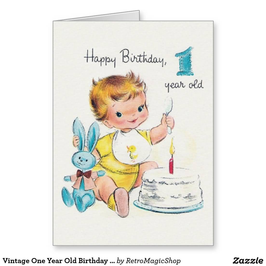 93 Birthday Wishes For 1 Year Old Boy Happy To Your