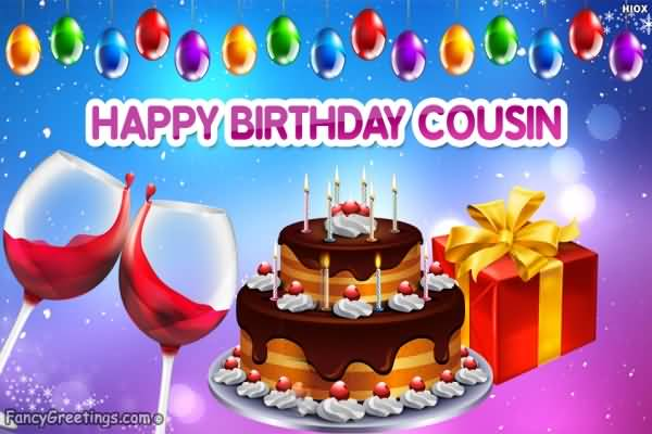 Birthday Cake Images For Cousin Sister : Awesome Gift Birthday Wishes For Friends Nicewishes.com