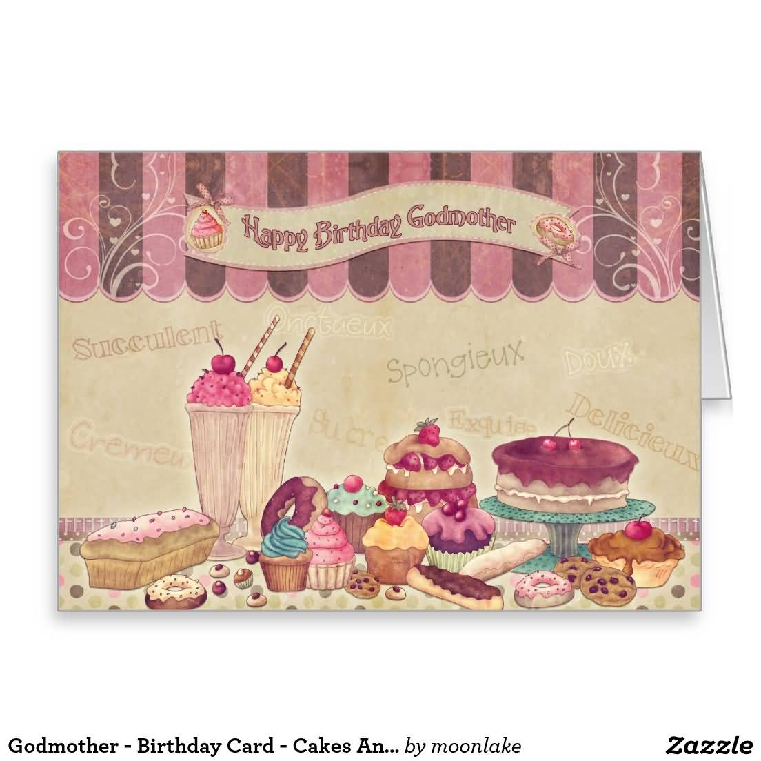 Awesome E-Card Birthday Wishes For Godmother
