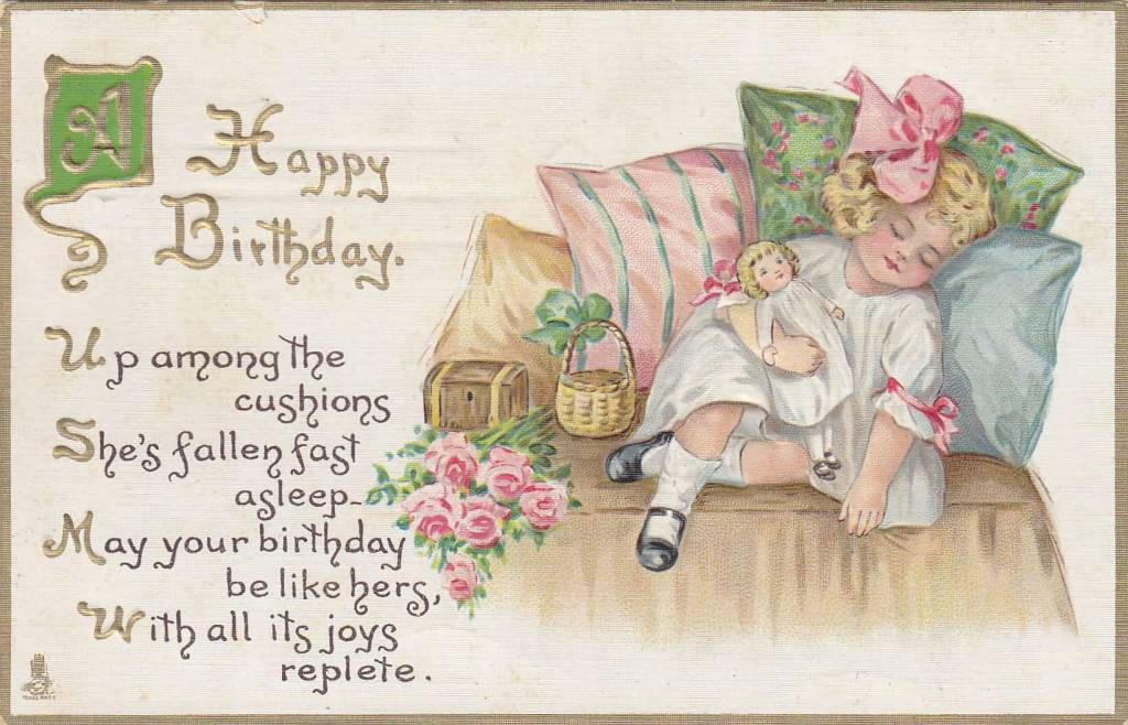 Awesome E-Card Birthday Wishes For Sweet Girls