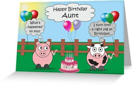 Awesome Funny E Card Birthday Wishes For Aunt Nicewishes