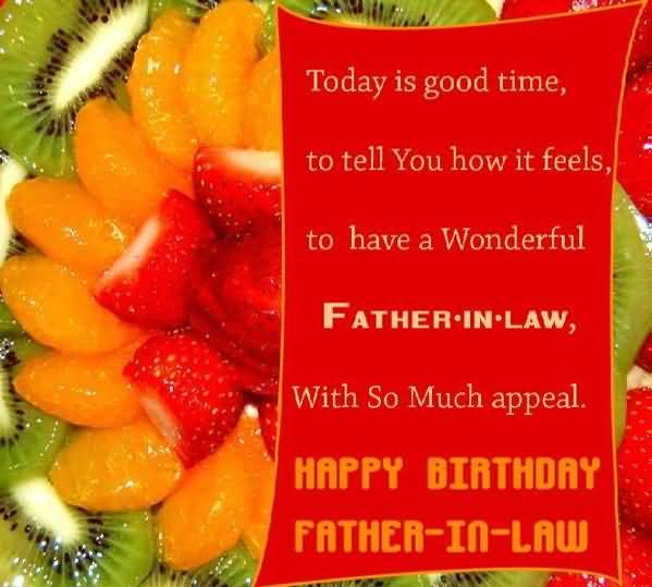 Awesome Greetings Birthday Wishes For Father In Law