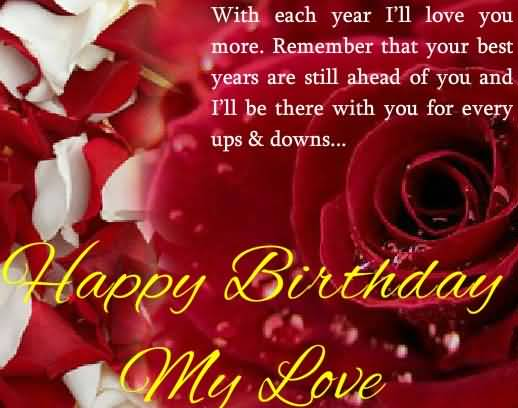 Awesome Quotes Birthday Wishes For Lover – Birthday Greetings to a Lover