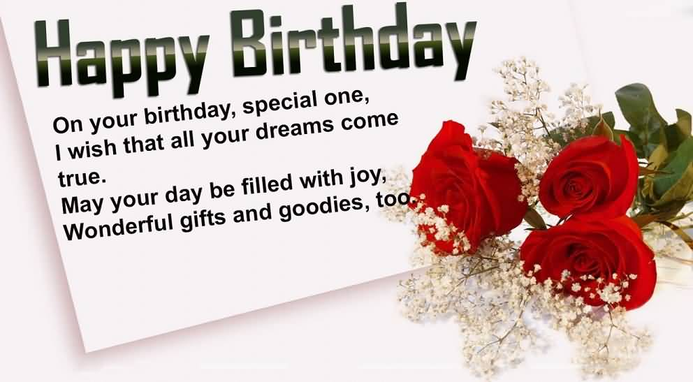 Best Message Birthday Wishes For Boy E-Card