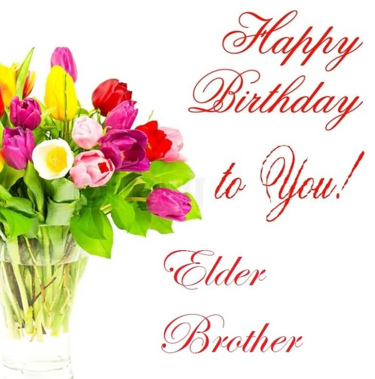 (85 images) Birthday Wishes For Elder Brother – Birthday ...