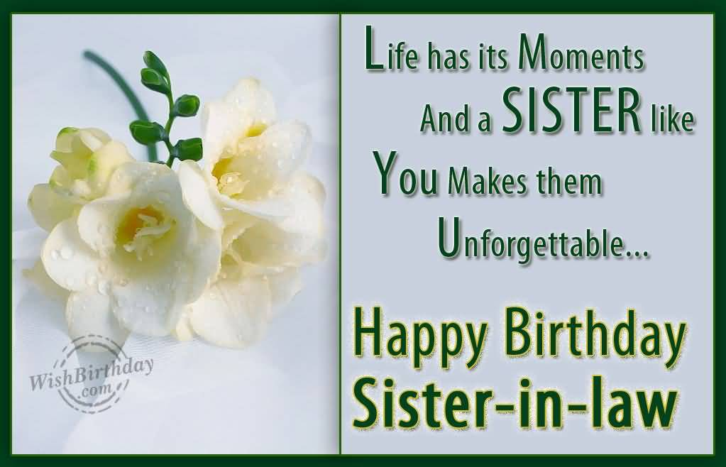 (150 Images) Birthday Wishes For Sister In Law