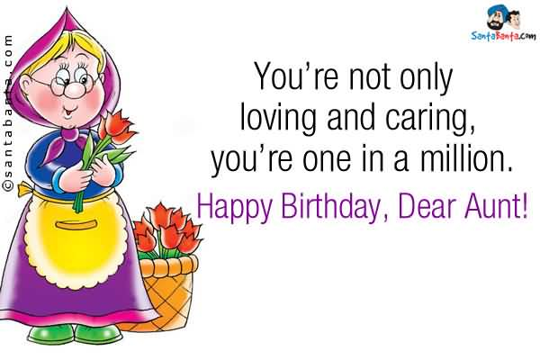 Best Aunt Birthday Wishes For Lovely Aunt E-Card