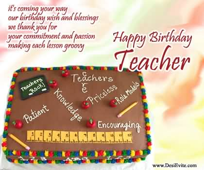 Birthday wishes for teacher ecards images page 26 best birthday wishes for teacher e card m4hsunfo