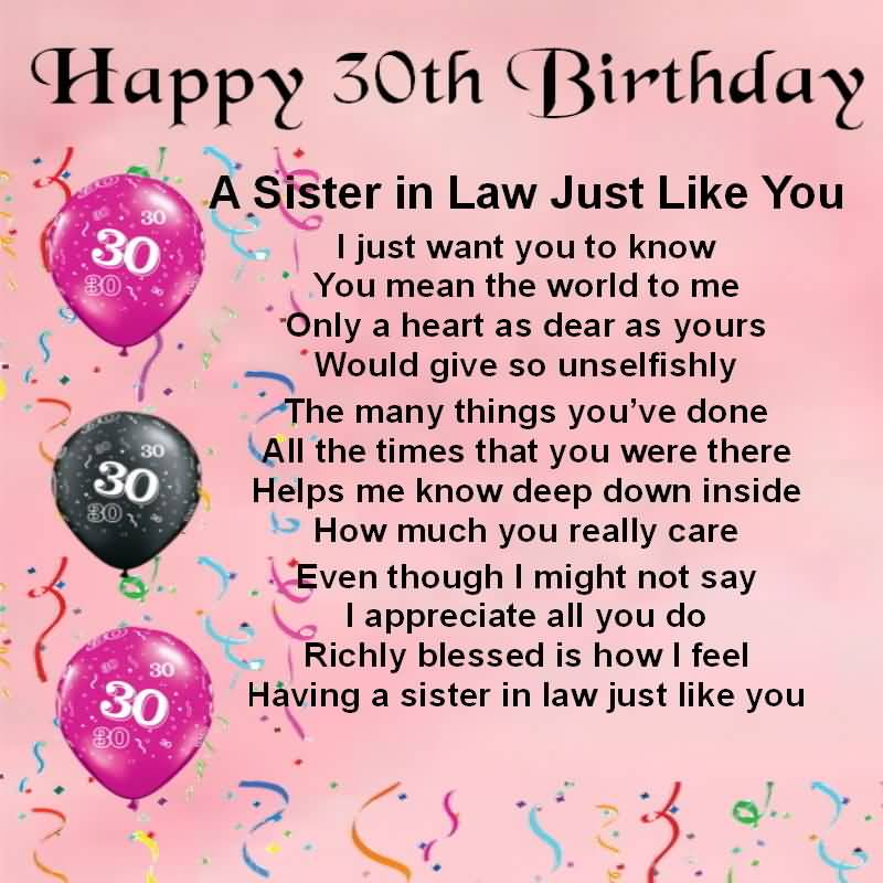 Birthday Wishes For Sister In Law - Nicewishes.com | Page 3