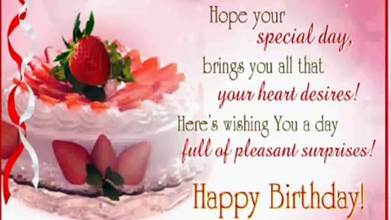 Birthday Wishes For Someone Special | Nicewishes.com